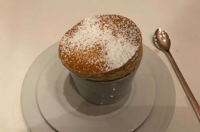 Seabourn Ovation soufflés from The Colonnade