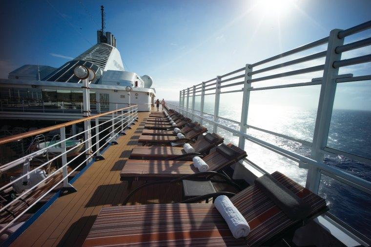 Silversea deck