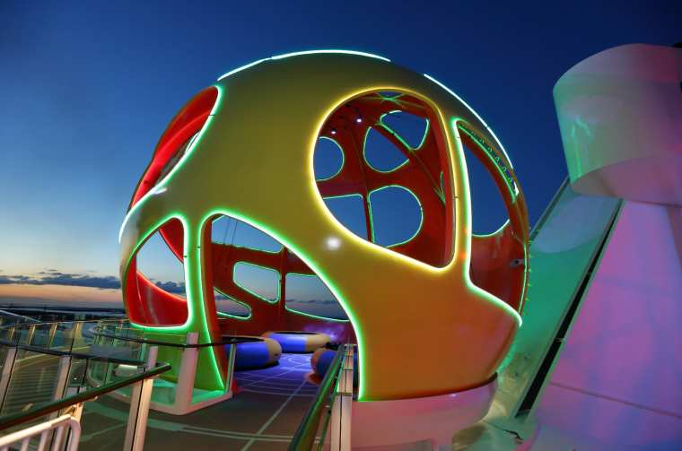 Sky Pad on the new amped up Mariner of the Seas