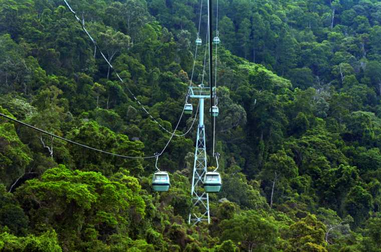 Skyrail Rainforest Cableway Barron Gorge National Park Queensland