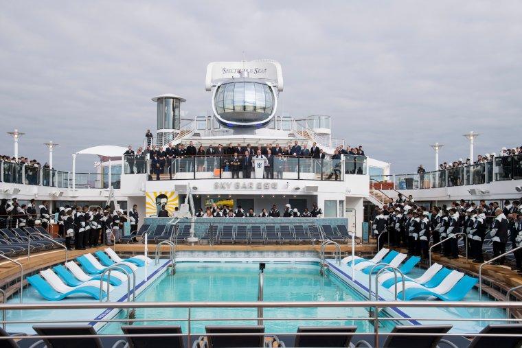 SPECTRUM OF THE SEAS Blessing ceremony