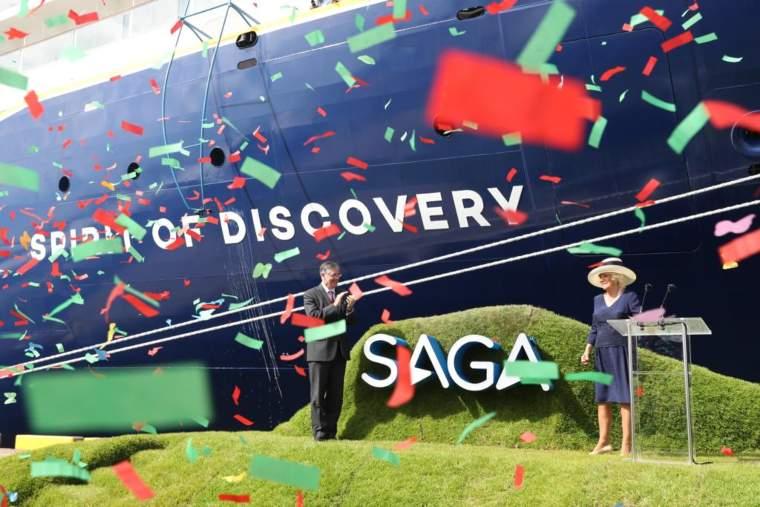 Spirit of Discovery, Saga