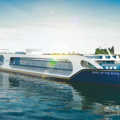 Spirit of the Rhine river cruise ship