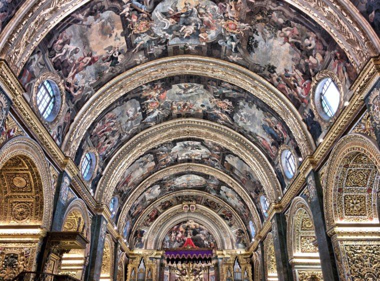 St. Johns Co-Cathedral, Valetta, Malta