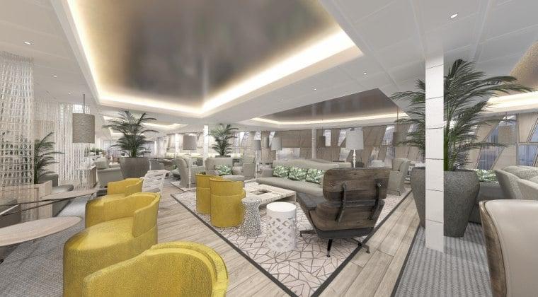 Celebrity Edge, Suite Lounge