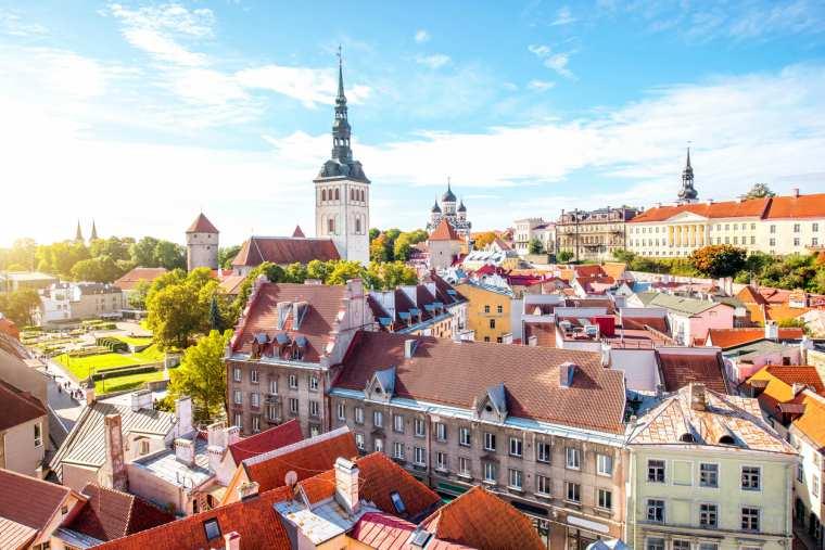 Tallinn old town, Tallinn, Estonia, Baltic cruise