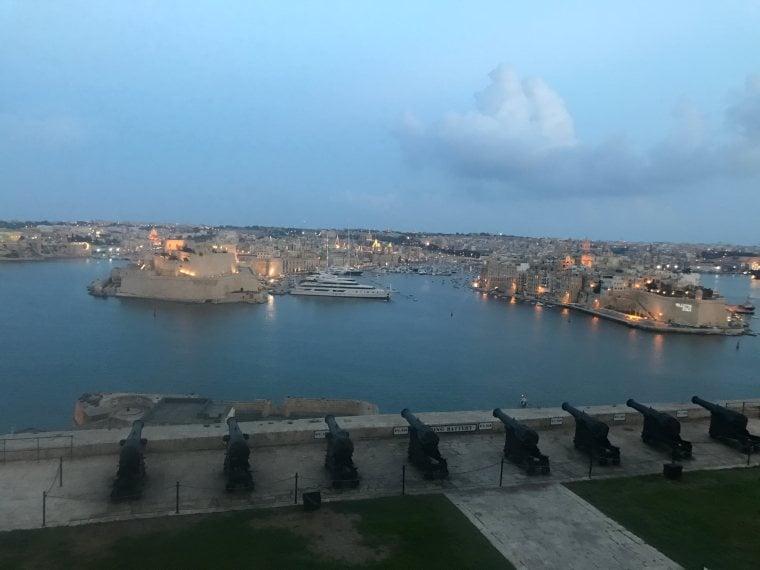 The Barrakka Gardens Valletta, Malta