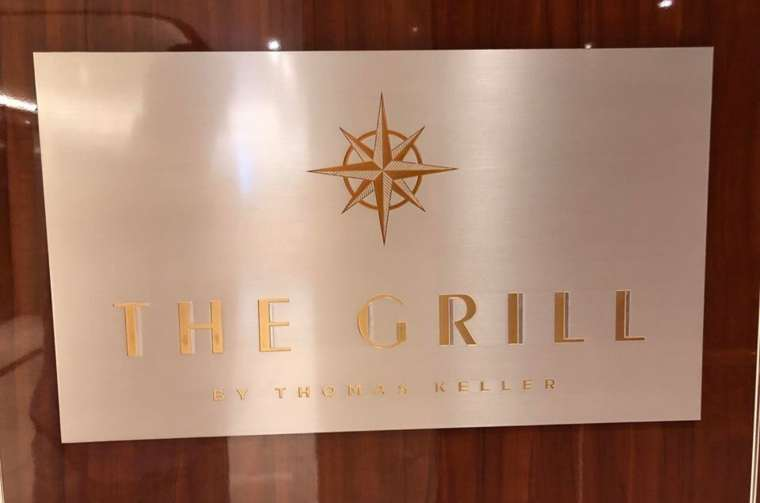 The Grill, Seabourn Ovation