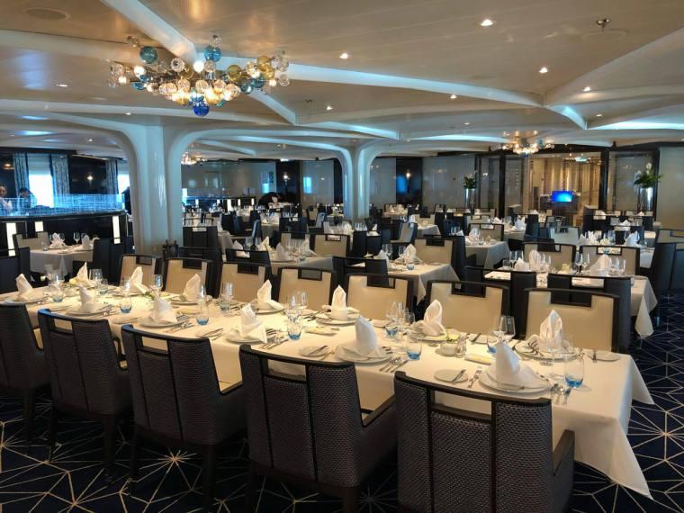 The Restaurant, Seabourn Ovation