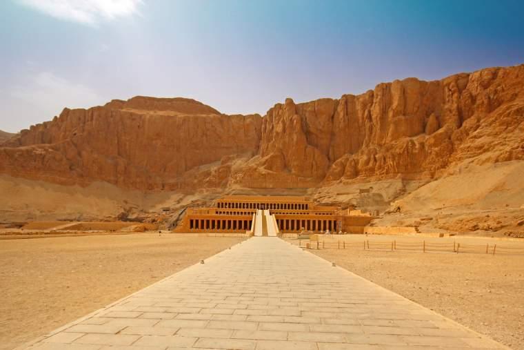 The temple of Hatshepsut near Luxor
