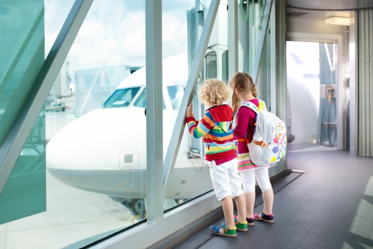 Travelling and flying with child