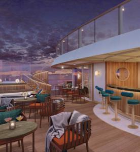 Sky Bar, Seabourn Venture