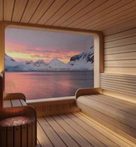 Spa Sauna, Seabourn Venture
