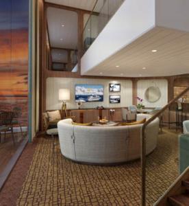 Wintergarden Suite, Seabourn Venture
