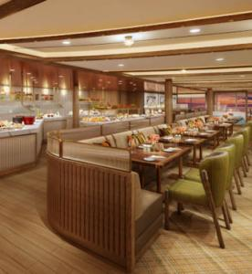 The Colonnade, Seabourn Venture