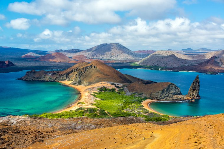 View from Bartolome Island, Galapagos Island