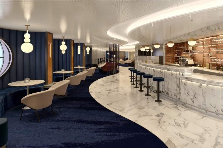 Virgin Voyages Sip-Champagne Lounge(1)