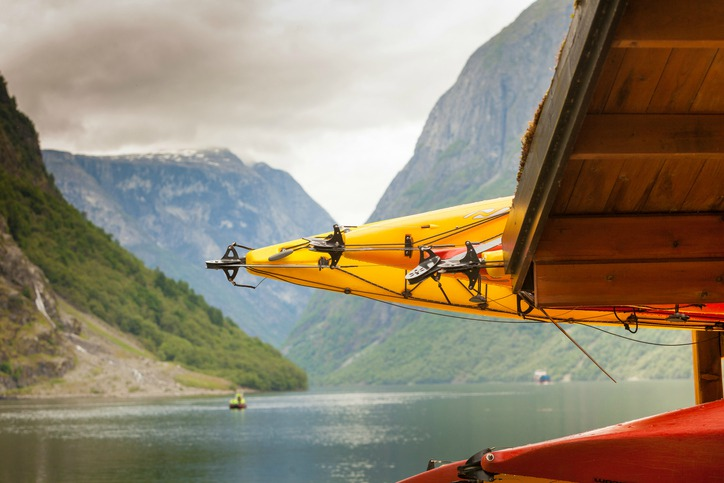 Water sports in Norway