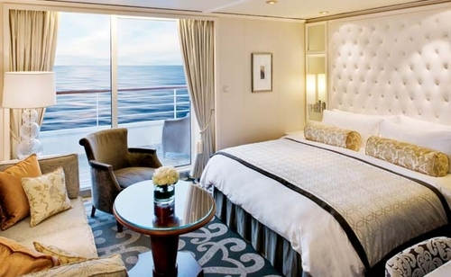 Penthouse Suite with Verandah and Third Berth – [PH]