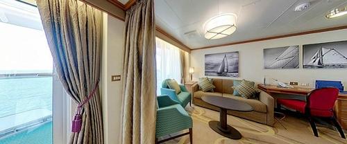 Penthouse Suite with Bath/Shower – [A1]