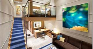 Crown Loft Suite with Balcony – [L1]