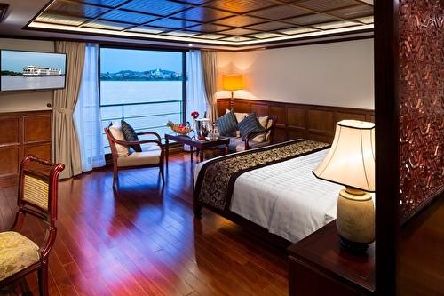 Luxury Suite, Twin Balcony – [L]