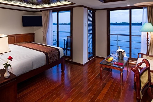 Suite, Twin Balcony – [S]