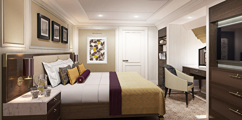 Forward Suite with balcony – [BB]