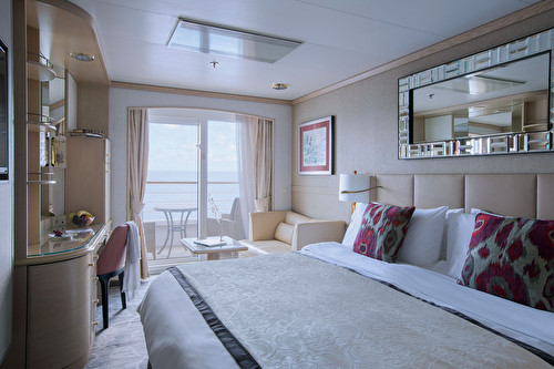 Deluxe Stateroom with Verandah – [A2]
