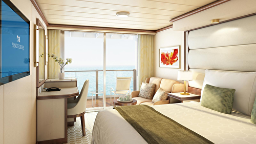 Deluxe Balcony Two Lower Beds – [DA]