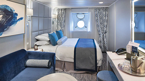 Oceanview Stateroom (Obstructed Views) – [E]