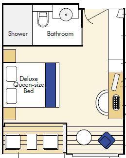 Twin Balcony Suite – [T+]