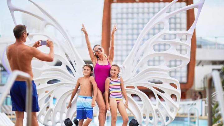 Family cruising on Celebrity Cruises, Celebrity Eclipse