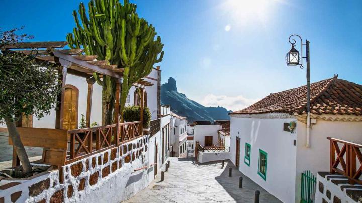 Tejeda, Grand Canaria. Canary Islands holiday