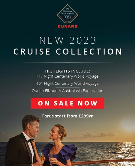 Cunard on sale now 2023