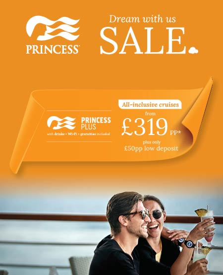 princess cruises dream with us sale has been extended