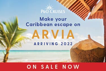 Arvia cruise holidays now all on sale