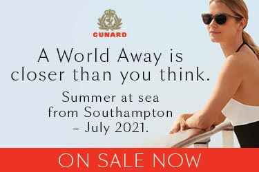 Cunard's summer at sea on sale now