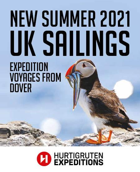 Hurtigruten expedition voyages summer 2021