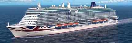 P&O Cruises Arvia