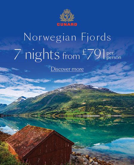 cunard norwegian fjords