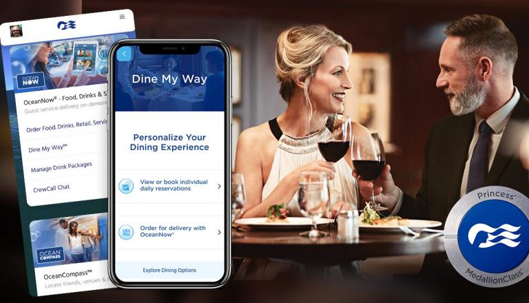 Princess Cruises Dine My Way