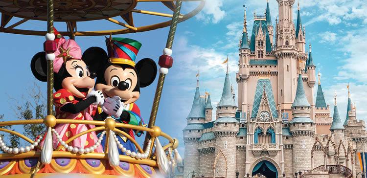 Disney Orlando featuring Mickey Mouse