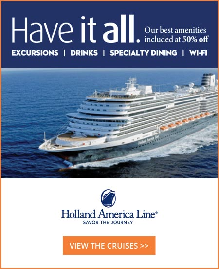 holland america latest offers and more
