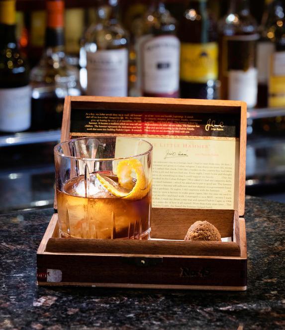 Cunard Cigar Box Cocktail