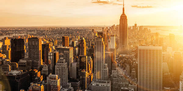 New York featuring Empire State Building