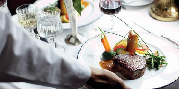 Orient Express dining