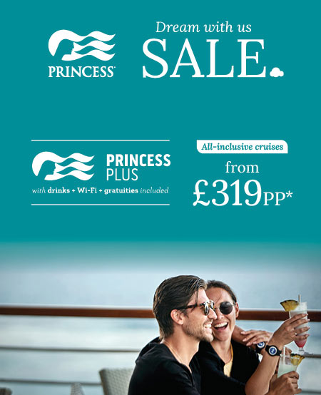 princess cruises sale including low prices