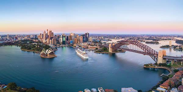 Sydney at sunrise, Australia