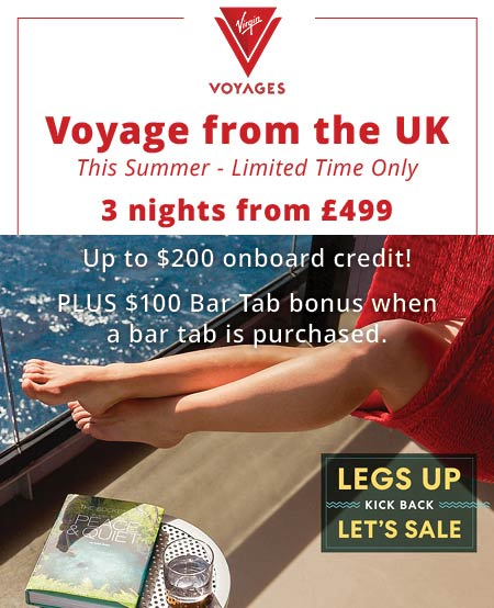 virgin voyages from the uk this summer 2021
